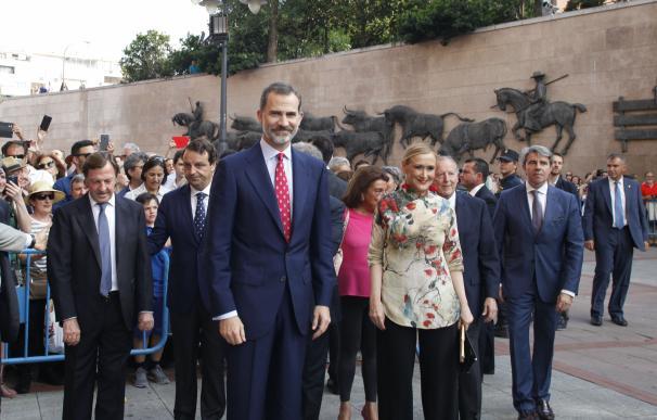 El Rey Don Felipe preside la Corrida de Beneficencia en Las Ventas