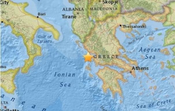 Registrado un terremoto de magnitud 6,7 en Grecia