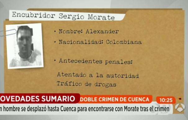 Ficha del amigo al que supuestamente Sergio Morate habría confesado el crimen (Antena 3)