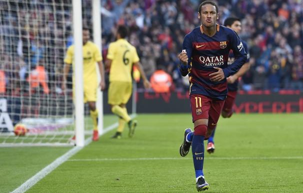 Neymar llega al Clásico en un gran estado de forma. / AFP