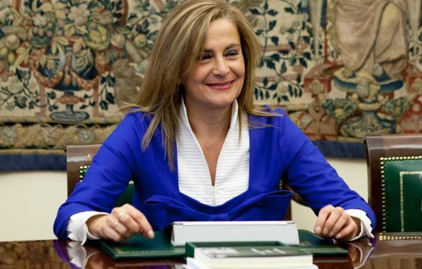 """Carmela Silva no descarta optar a la Secretaría Xeral del PSdeG pero dice que el partido """"no está ahora en ese proceso"""""""