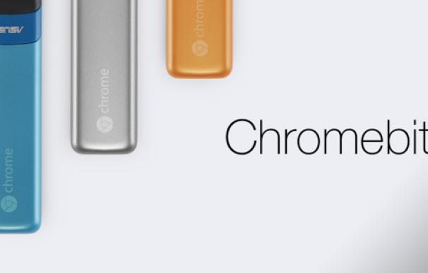 Chromebit estará disponible por 85 dólares en diferentes colores