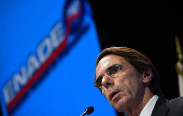 El expresidente del Gobierno Jose Maria Aznar / AFP