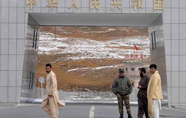 To go with story 'Pakistan-China-economy-transport