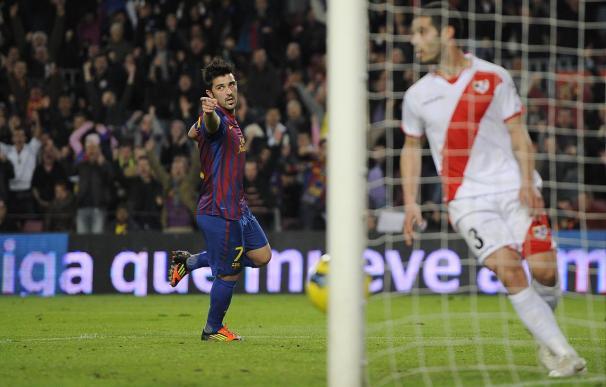 Villa, listo para el Madrid