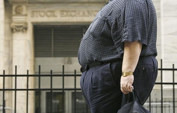 Imagen de un hombre obeso-GlobalPost