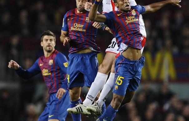 Barcelona, 4 - Rayo Vallecano, 0.
