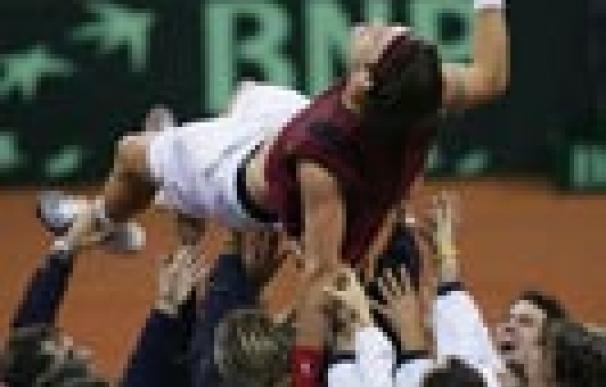 Copa Davis: La victoria en La Cartuja en 2004, en imágenes