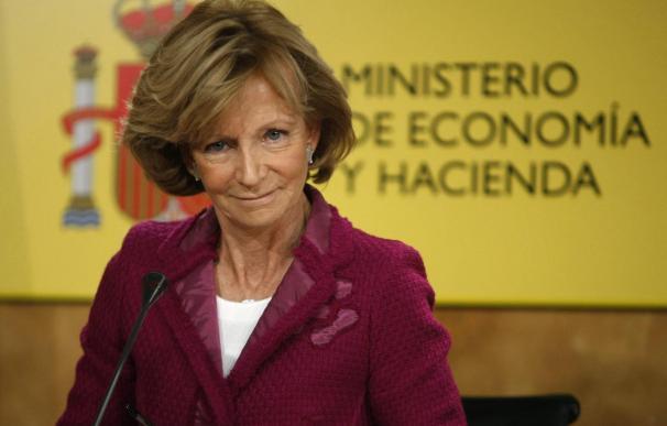 Salgado descarta que se utilice el fondo de rescate para avalar a España