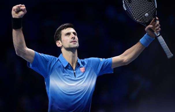 Djokovic gana a Federer y se proclama campeón de la Copa de Maestros / AFP