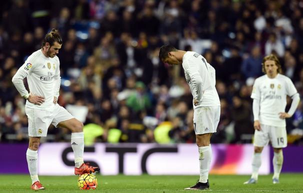El Real Madrid de Rafa Benítez, en crisis. / AFP
