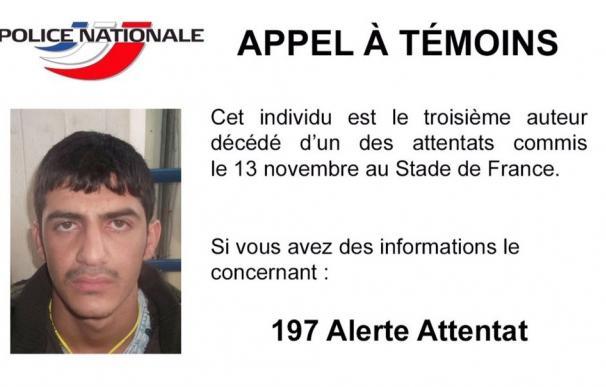 La Policía divulga la foto de uno de los terroristas suicidas del Stade de France