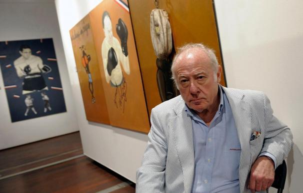 """El pintor Eduardo Arroyo denuncia el silencio """"casi clandestino"""" que envuelve al boxeo"""