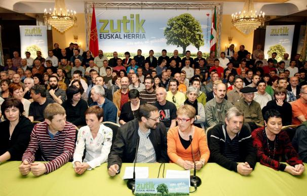 """La izquierda abertzale apuesta en exclusiva """"por vías políticas y democráticas"""""""