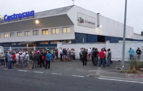 Sindicatos cifran en un 90% el seguimiento del paro en el sector del metal en la provincia de A Coruña