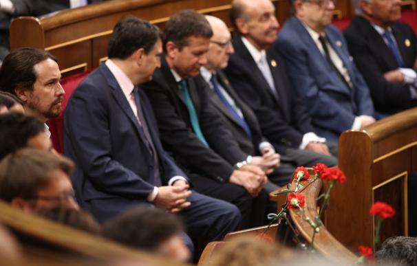 """Iglesias critica la """"equidistancia"""" del Rey """"entre los demócratas y los que no lo eran"""": """"No ha estado a la altura"""""""