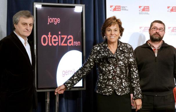 El Museo de Gernika exhibe obras de Oteiza inspiradas en el bombardeo de 1937