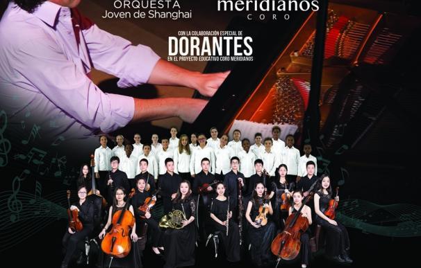 La Orquesta Joven de Shanghai y el Coro Meridianos ofrecen 'Unidos por el talento' con colaboración de Dorantes