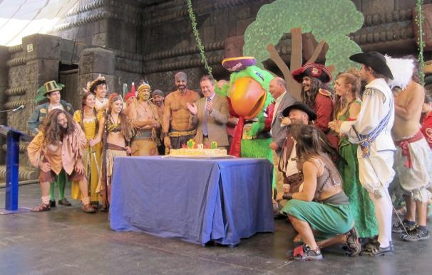 """Isla Mágica celebra sus 20 años """"sólida, estable y en crecimiento"""" y a la espera de su visitante 18 millones"""