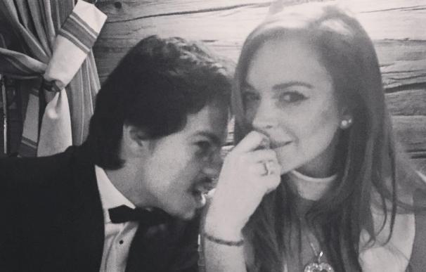 Lindsay Lohan desmiente el supuesto compromiso con Egor Tarabasov