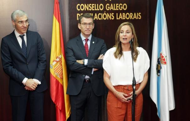 La Xunta defiende la necesidad de un acuerdo marco interprofesional autonómico para impulsar la calidad en el empleo