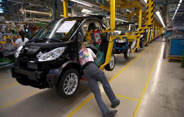 La facturación en la industria acelera su aumento con un 7,4 por ciento en febrero