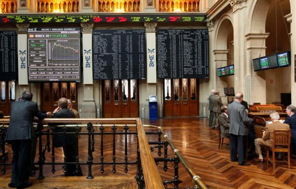 La Bolsa española comienza la semana en negativo y el Ibex cede el 1,03 por ciento