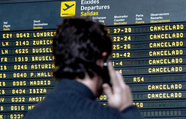 Medio centenar de vuelos cancelados entre Japón y Europa por quinto día
