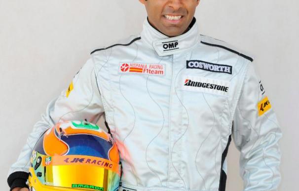 Hispania logra terminar la carrera con Karun Chandhok