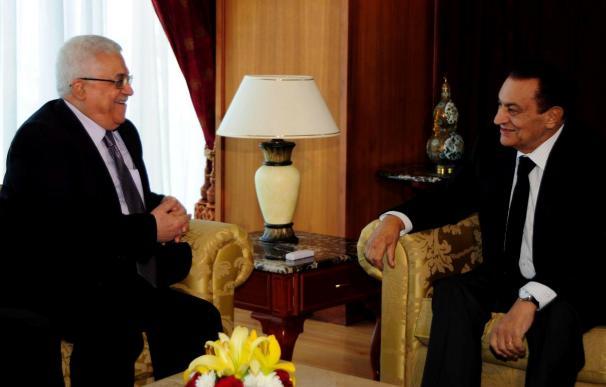 El presidente palestino afirma que Israel no tiene ningún derecho a expulsar a palestinos