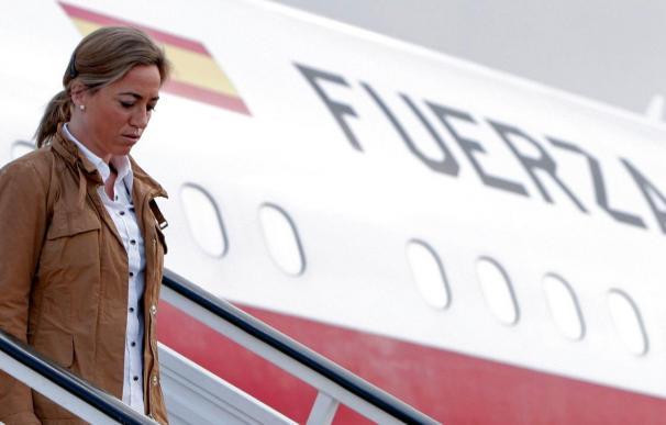 Llega a Rota el avión con los cuerpos de los cuatro militares fallecidos