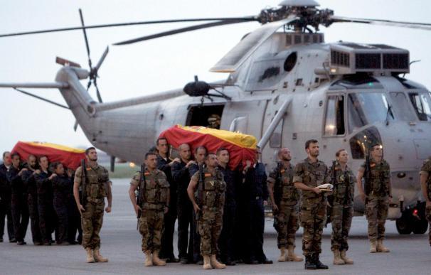Los Reyes presidirán el funeral por los cuatro militares fallecidos en Haití