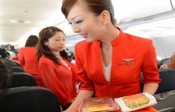 Imagen de servicio de catéring a bordo /AFP