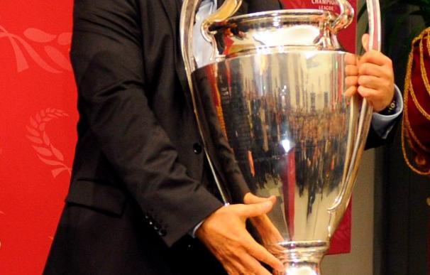 El trofeo de la Liga de Campeones recorrerá Madrid en autobús