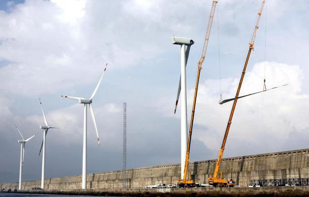 El peso de las energías renovables aumentó el año pasado hasta el 12,3%