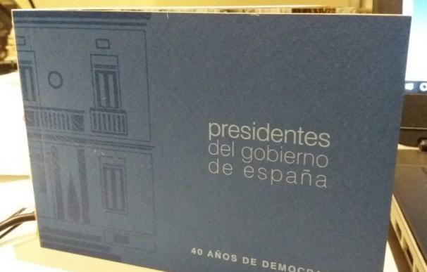 Moncloa hace un cuaderno con fotos de los presidentes del Gobierno para conmemorar los 40 años de democracia