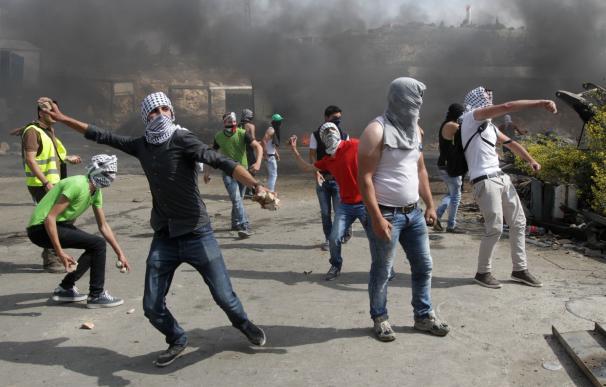 Los incidentes entre palestinos e israelíes no cesan.