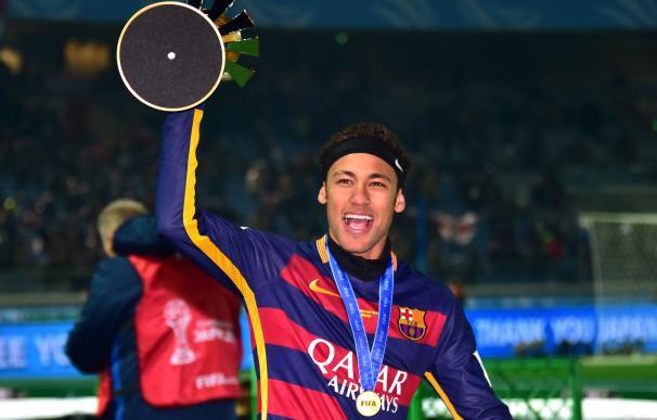 """Neymar, sobre su futuro: """"Estamos hablando para renovar, pero la vida es muy larga"""" / AFP."""