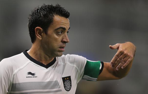 """Xavi: """"Ronaldo, Neymar y Suárez son extraordinarios, pero están por debajo de Messi"""" / AFP."""