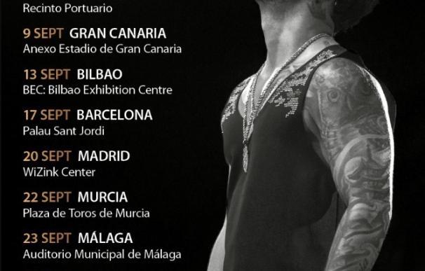 Maluma anuncia los primeros ocho conciertos de su próxima gira española