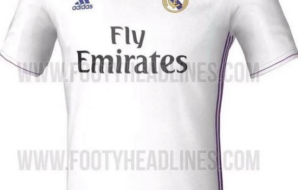 Filtran la camiseta del Real Madrid para la 2016-17 / Footyheadlines