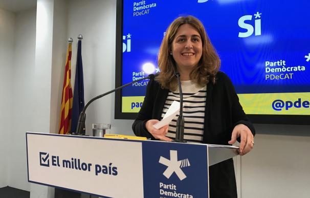 """Pascal (PDeCAT) espera que el Gobierno cambie su postura sobre el referéndum y subraya: """"No es un proceso contra España"""""""