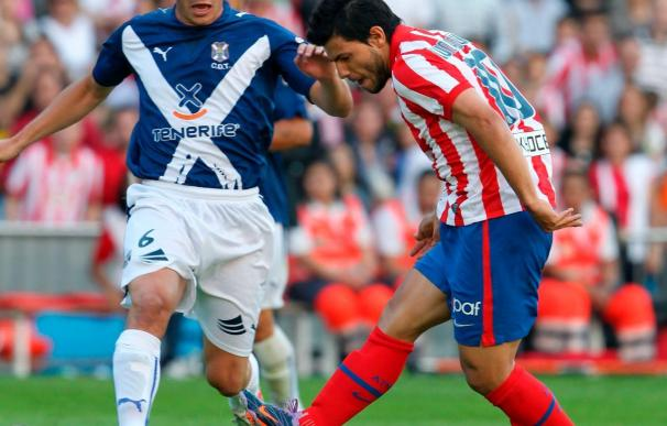 3-1. Salvio y Agüero refuerzan la tranquilidad del Atlético y dejan en descenso al Tenerife