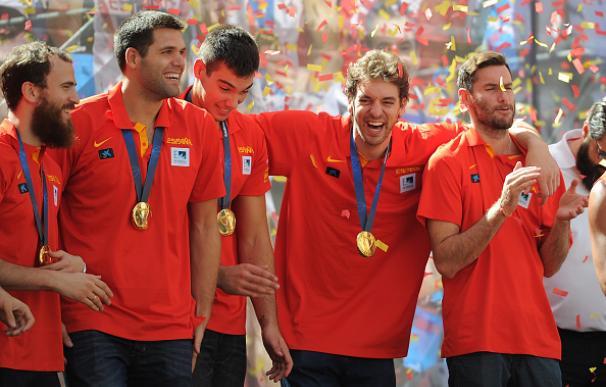 Los jugadores muestran su compromiso con la selección. / Getty Images