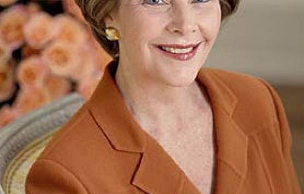 Laura Bush, primera dama de los EEUU entre enero 2001-enero 2009 (Foto oficial de la Casa Blanca, Krisanna Johnson)
