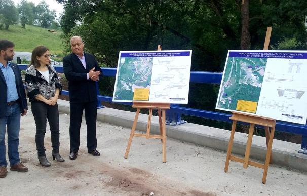 El Principado destina más de un millón de euros a mejorar dos carreteras de Cabranes y Nava