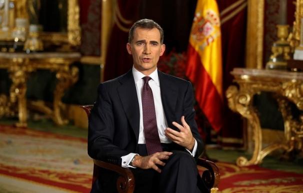 El Rey pide tras las elecciones pensar ante todo en España y en el interés general