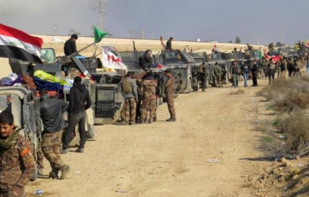 El ejército iraqui en Ramadi