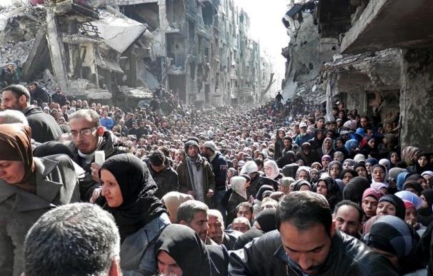 Los yihadistas controlan ya el 90 por ciento de Yarmuk