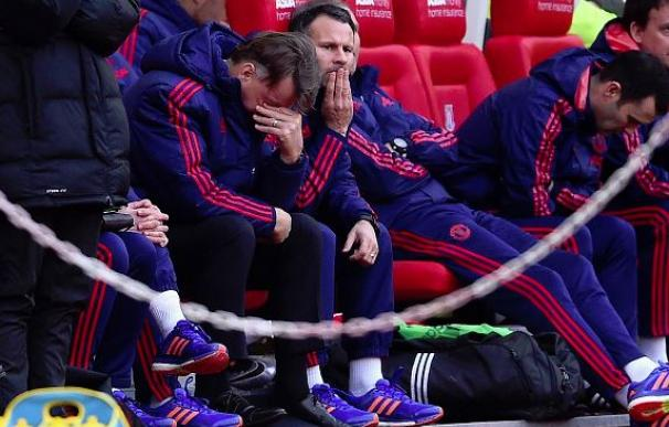 El United de Van Gaal se derrumba en el 'Boxing Day' ante el Stoke (2-0) / Getty Images.